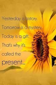 Vandaag is een geschenk!